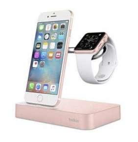 Belkin Valet Charge Dock pre Apple Watch/iPhone - Rose Gold