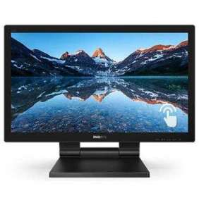 """Philips MT LED 21,5"""" 222B9T/00 - 1920x1080,50M:1, 250cd, HDMI, VGA, DVI-D, DP, USB, repro, touch"""
