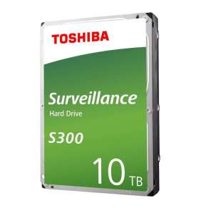 "TOSHIBA HDD S300 PRO Surveillance (CMR) 10TB, SATA III, 7200 rpm, 256MB cache, 3,5"", BULK"