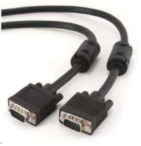 GEMBIRD propojovací kabel VGA 15m stíněný extra, černý