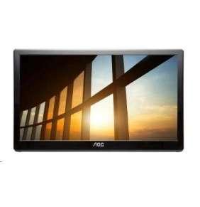 """AOC LCD  přenosný I1659FWUX 15,6"""" IPS/1920x1080/10ms/700:1/repro/USB"""