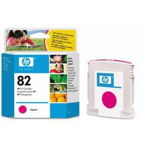 HP No. 82 Magenta Ink Cartridge (69 ml)