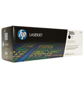 HP 305X Black LJ Toner Cart, 4 000 str, CE410X