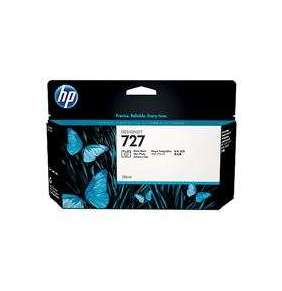 HP 727 Black Photo Ink Cart, 130 ml, B3P23A
