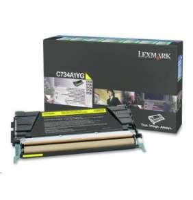 LEXMARK toner YELLOW C734, C736, X734, X736, X738 na 6000 stran