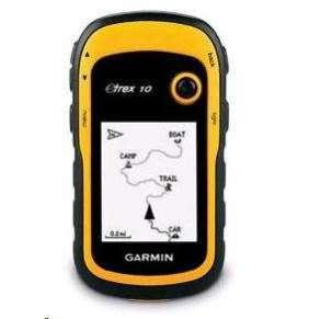 GARMIN ruční outdoorová navigace eTrex 10