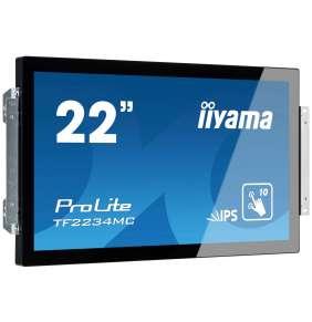 """22"""" iiyama TF2234MC-B6AGB: IPS, FullHD, capacitive, 10P, 350cd/m2, VGA, DP, HDMI, černý"""