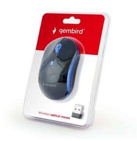 Gembird bezdrátová myš MUSW-4B-03-B, modrá