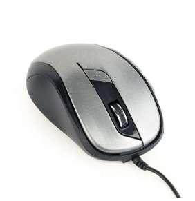 Gembird drátová myš MUS-6B-01-BG, zlatá