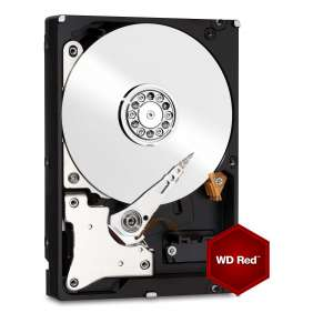 "WD Red 3,5"" HDD 2TB NAS 5400RPM 64MB SATA III 6Gb/s"