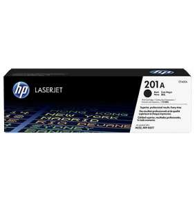 HP 201A Black LJ Toner Cartridge, CF400A