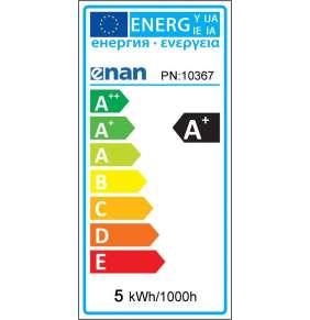 Whitenergy LED žiarovka | GU5.3 | 10 SMD 2835 | 5W | 220-240V| mlieko | MR16