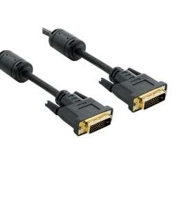 4World Kabel pro LCD DVI-D (24+1)- DVI-D (24+1) M/M 1.8m, DL ferryt - retail