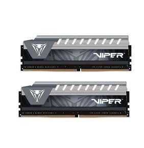 PATRIOT Viper Elite Grey 16GB DDR4 2666MHz / DIMM / CL16 / Heat shield / KIT 2x 8GB