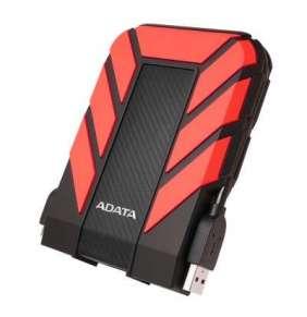 ADATA HD710P externý HDD 2TB 2.5'' USB 3.1, červený, vodeodolný a nárazu odolný