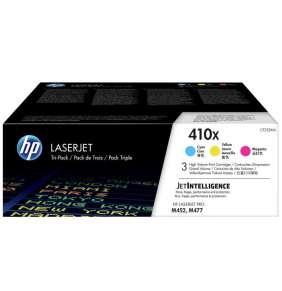 HP 410X 3-pack High Yield Cyan/Magenta/Yellow Original LaserJet Toner Cartridges (CF252XM)