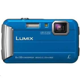 """Panasonic DMC-FT30EP-A blue (16 Mpx, 4x zoom, 2.7"""" LCD, HD video, odolný)"""