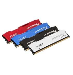 KINGSTON 8GB 1866MHz DDR3 CL10 DIMM HyperX FURY White Series