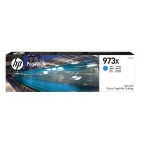 HP F6T81AE 973X High Yield Cyan Original PageWide Cartridge