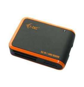 i-tec USB 2.0 univerzální čtečka (černo/oranž)