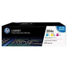 HP toner HP CF372AM pro HP CLJ CM2320 / CP2025 (3x2800 stran) CMY - CC531A -533A - 3pack originál