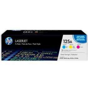 HP 125A CMY 3-pack LJ Toner Cart, 3 x 1 400 str, CF373AM