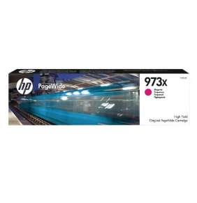 HP 973X High Yield Magenta Original PageWide Cartridge (7,000 pages)
