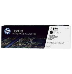 HP 312XD, black toner pre HP LaserJet M476dn/dw/nw, 2x 4400 strán / dual pack