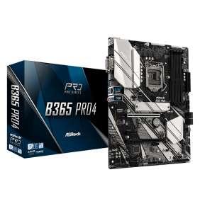 ASRock B365 PRO4, 1151, DDR4 2666, 6 SATA3, HDMI, DVI-D, D-Sub, USB 3.1