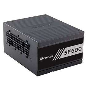 CORSAIR zdroj, SF600-80 PLUS® Platinum Certified High Performance PSU (SFX, 600W, Modular)