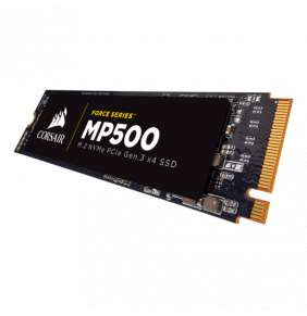 Corsair SSD 480GB MP510 NVMe PCIe Gen3x4 M.2 2280 3D TLC (č/z: 3480/2000MB/s)