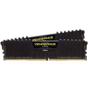 Corsair Vengeance LPX Black Heat DDR4, 3000MHz 32GB 2 x 288 DIMM, 1.35V