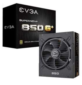 EVGA zdroj SuperNOVA 850 G+ / 850W / modulární kabeláž / 80 Plus GOLD