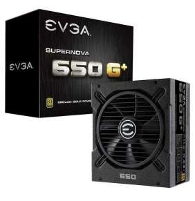 EVGA zdroj SuperNOVA 650 G+ / 650W / modulární kabeláž / 80 Plus GOLD