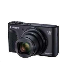 Canon PowerShot SX740HS, Black - 20MP, 40x zoom, 24-960mm, 4K