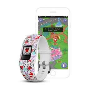 GARMIN fitness náramek pro děti vívofit junior2 Minnie Mouse