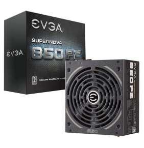 EVGA zdroj SuperNOVA 850 P2 850W / modulární kabeláž / 80 Plus platinum