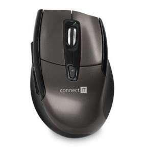 CONNECT IT Bezdrátová laserová myš (+ 2x AAA baterie zdarma)