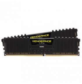 Corsair Vengeance LPX 32GB (Kit 2x16GB) 3000MHz DDR4 CL15 1.35V XMP 2.0, čierny