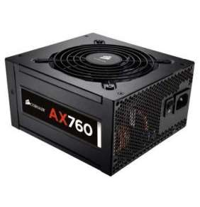 CORSAIR zdroj, AX760-80 PLUS® Platinum Certified PSU (ATX, 760W, Modular)