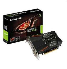 GIGABYTE  GeForce GTX 1050 Ti / PCI-E / 4GB GDDR5 / DVI-D / HDMI / DP / / active