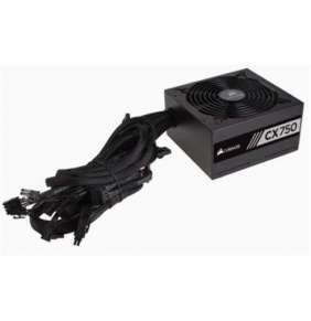 CORSAIR zdroj, CX750-80 PLUS® Bronze Certified PSU (ATX, 750W)