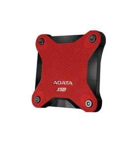 ADATA externý SSD SD600 3D NAND, 256GB, USB 3.1, červená