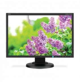 """NEC MT 23"""" LCD MuSy E233WMi Black IPS W-LED,1920x1080, 250cd, 1000:1, 6ms, DP+DVI+VGA, audio"""