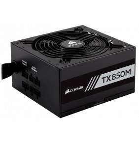CORSAIR zdroj, TX850M-80 Plus® Gold Certified PSU (ATX, 850W, Semi-modular)