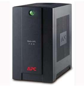 APC Back-UPS 700VA (390W)/ AVR/ 230V/ 4x IEC zásuvka