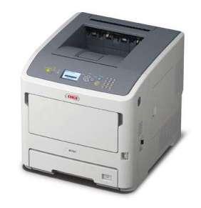 OKI B721dn, A4 LED, mono printer, 47 strán/min, 1200x1200, USB, LAN, duplex