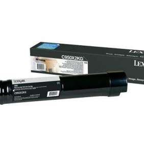 LEXMARK toner C950 Black Extra High Yield Toner Cartridge