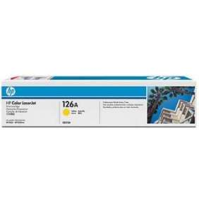 HP 126A Yellow LJ Toner Cart, 1 000 str, CE312A