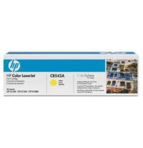 HP 125A Yellow LJ Toner Cart, 1 400 str, CB542A
